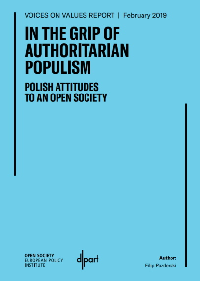 In the grip of authoritarian populism. Polish attitudes to an open society