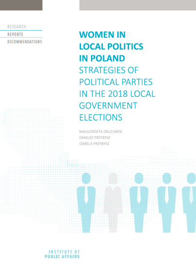 Women in local politics in Poland. Strategies of political parties in the 2018 local government elections