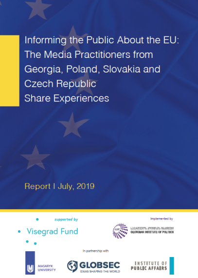 Informing the public about the EU: The media practitioners from Georgia, Poland, Slovakia and Czech Republic share experiences