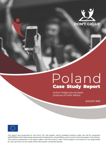 Don't GIG Up. Poland Case Study Report