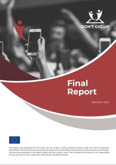 Dont'gig up. Final Report