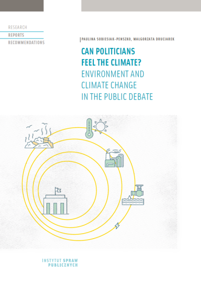 Can politicians feel the climate? Enviroment and climate change in the public debate