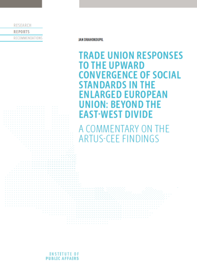 Trade union responses to the upward convergence of social standards in the enlarged European Union: Beyond the East-West divide