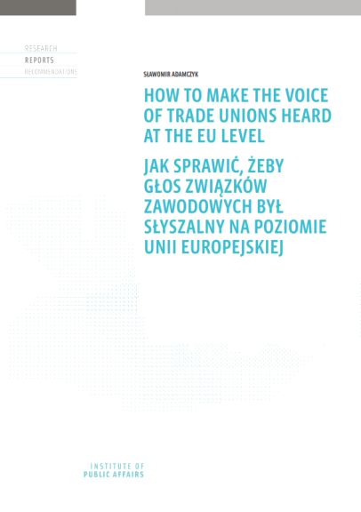 How to make the voice of trade unions heard at the EU level