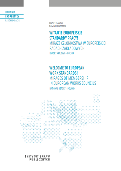 Welcome to European work standards! Mirages of membership in European Works Councils