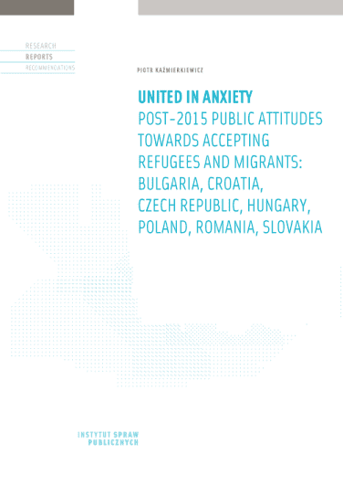 United in anxiety Post-2015 public attitudes towards accepting refugees and migrants