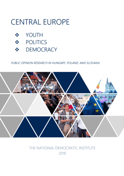Youth, Politics, Democracy: Public Opinion Research in Hungary Poland and Slovakia