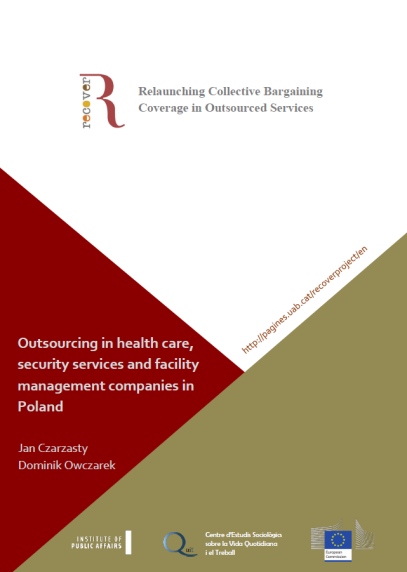 Outsourcing in health care, security services and facility management companies in Poland